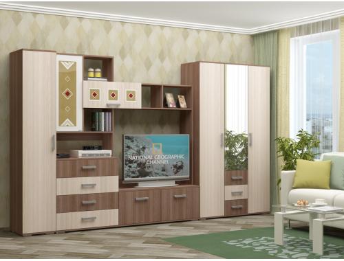 Гостиная Белла-4 ясень