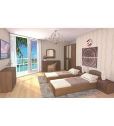 Спальня Венеция орех-1