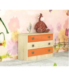 Комод  Колибри оранж