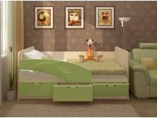 Кровать Дельфин салатовый