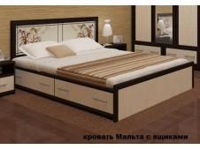 Кровать Мальта с ящиками