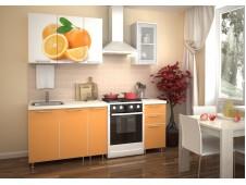 Кухня Апельсин 1.5 м