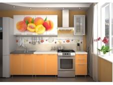 Кухня  Персик  радуга