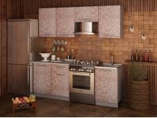 Кухня София Мозаика какао  2.1 метра
