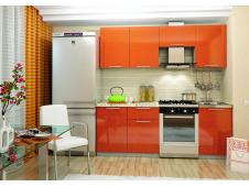 Кухня София оранж 2.1 метра