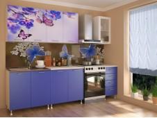 Кухня Бабочки мдф