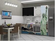 Кухня Город-11 мдф