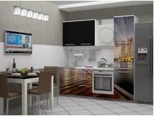 Кухня Город-13 мдф