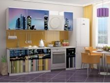 Кухня Город-2 мдф
