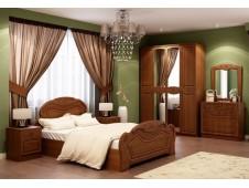 Спальня  Александрина мдф орех