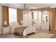 Спальня  Александрина  мдф  белый