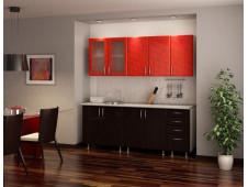 Кухня Красная роза