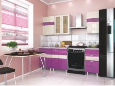 Кухня Ванесса лилу ваниль вариант №2