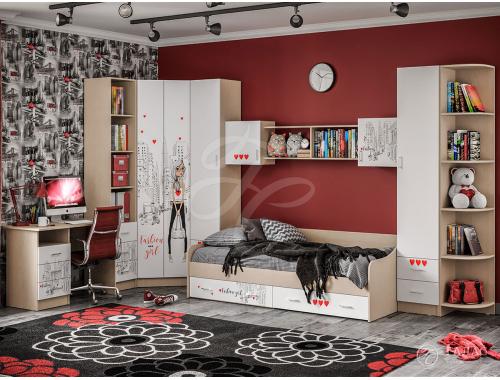 Мебель для детской Вега NEW Girl