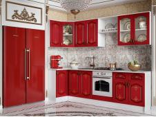 Кухня Версаль шардоне угловая