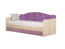 Кровать диван Колибри виола