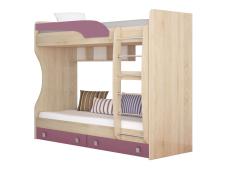 Кровать двухярусная Колибри виола