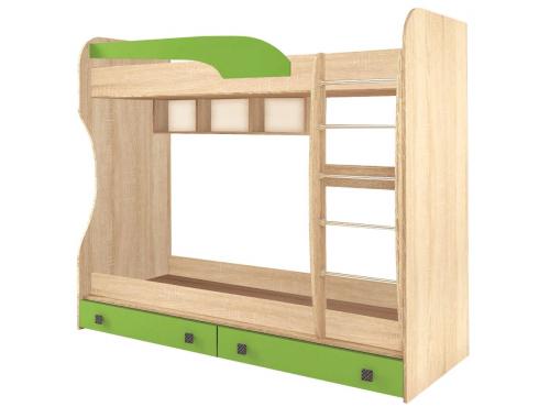 Кровать двухярусная  Колибри мохито