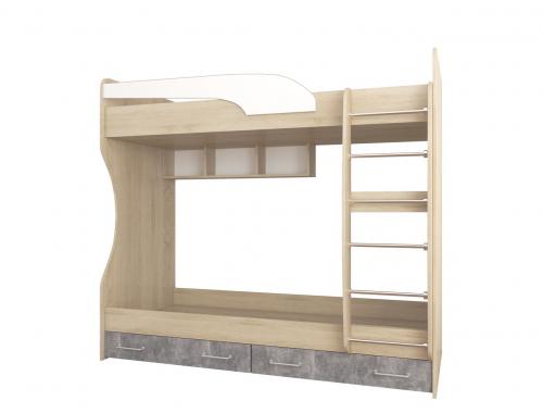 Кровать двухярусная  Колибри лофт