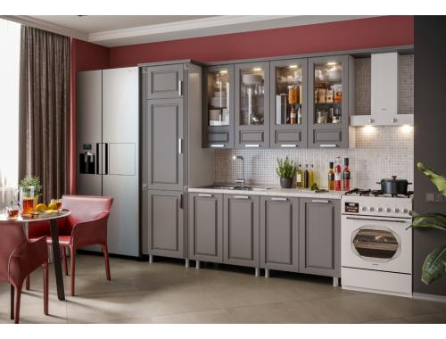 Кухня Констанция графит с пеналом