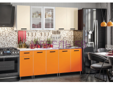 Кухня Рио-1 манго/бежевый
