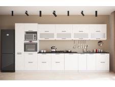 Кухня София Олива бетон белый