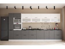 Кухня София бетон (вариант №4)