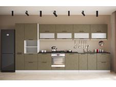 Кухня София Олива бетон коричневый