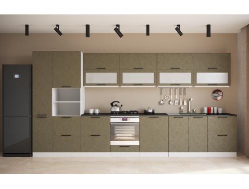 Кухня София бетон (вариант №5)