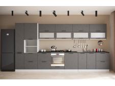 Кухня София Олива бетон черный