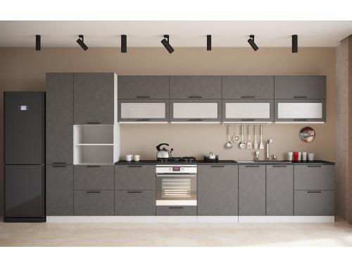 Кухня София бетон (вариант №8)