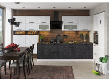 Кухня София бетон (вариант №12)