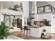 Кухня София бетон (вариант №9)