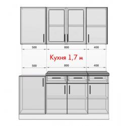 Кухня Ирина белая