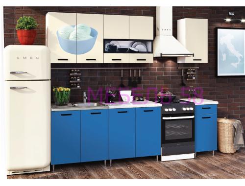 Кухня Рио-2 Мороженое синий