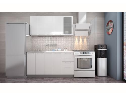 Кухня София белая 1.6 метра