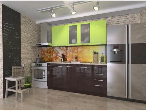 Кухня София Рио лайм / венге 1.8 метра