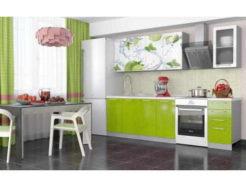 Кухня София Лайм 1.8 метра