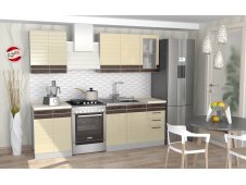 Кухня София Wood Line ваниль 1.8 метра