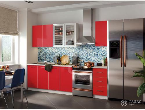 Кухня Фортуна красная