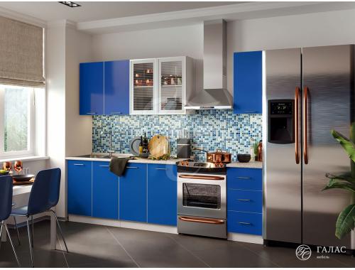 Кухня Фортуна синяя
