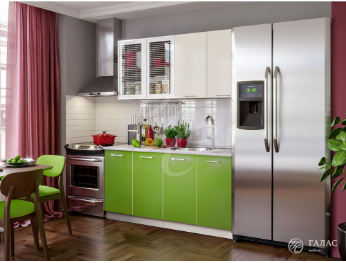 Кухня Фортуна олива/бежевая