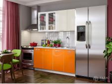 Кухня Фортуна манго/бежевая