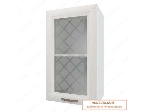 Шкаф навесной стекляный Агава ВС400