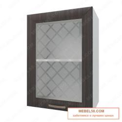 Шкаф навесной стекляный Агава ВС500