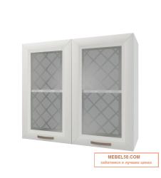 Шкаф навесной стекляный Агава ВС800