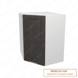 Шкаф навесной угловой Агава ВУ600