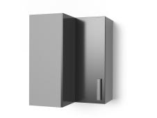 Шкаф верхний угловой с сушилкой УСП