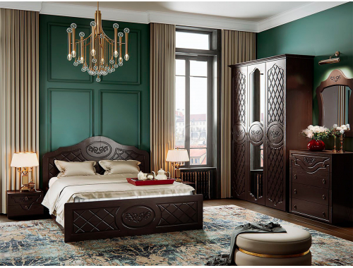 Спальня Престиж шоколад