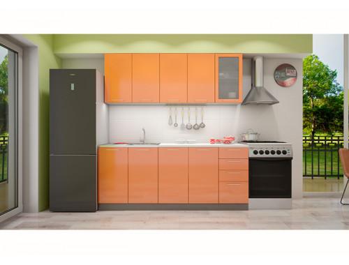 Кухня София оранж 2.0 метра
